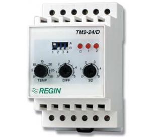 Termostate Regin electronice cu montare pe şină DIN, seria TM1N, TM2