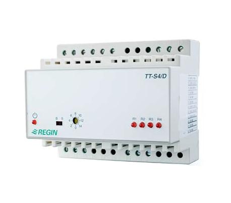 Convertor Regin de semnal (step controller), seria TT-Sx/D