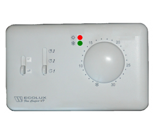 Termostate Watts electronice, seria Ecolux – Fan Comfort 4T