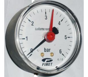 Manometre Watts axiale cu ac indicator de referinţă, seria M3A, model