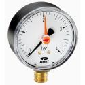 Manometre Watts radiale cu ac indicator de referință, seria M1