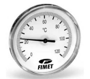 Termometre Watts axiale, seria TB
