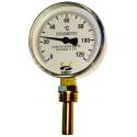 Termometre radiale Watts, seria TBR