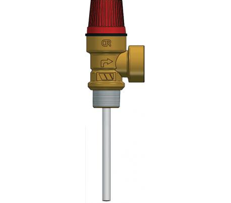 Supapă Watts combinată: presiune şi temperatură pentru boilere, seria PT684