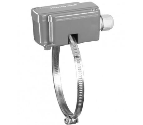 Senzor de temperatură aplicat cu colier metalic Honeywell, seria SF