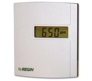Traductoare de CO2 si temperatura ambianta Regin, cu comunicatie, CTRC2